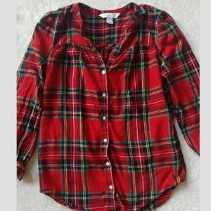 Old Navy Plaid Tunic